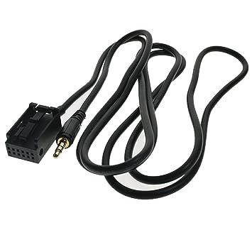 audio aux male 3 5mm in car cable bmw z4 e83 e85 e86 x3 mini cooper:  amazon ca: electronics