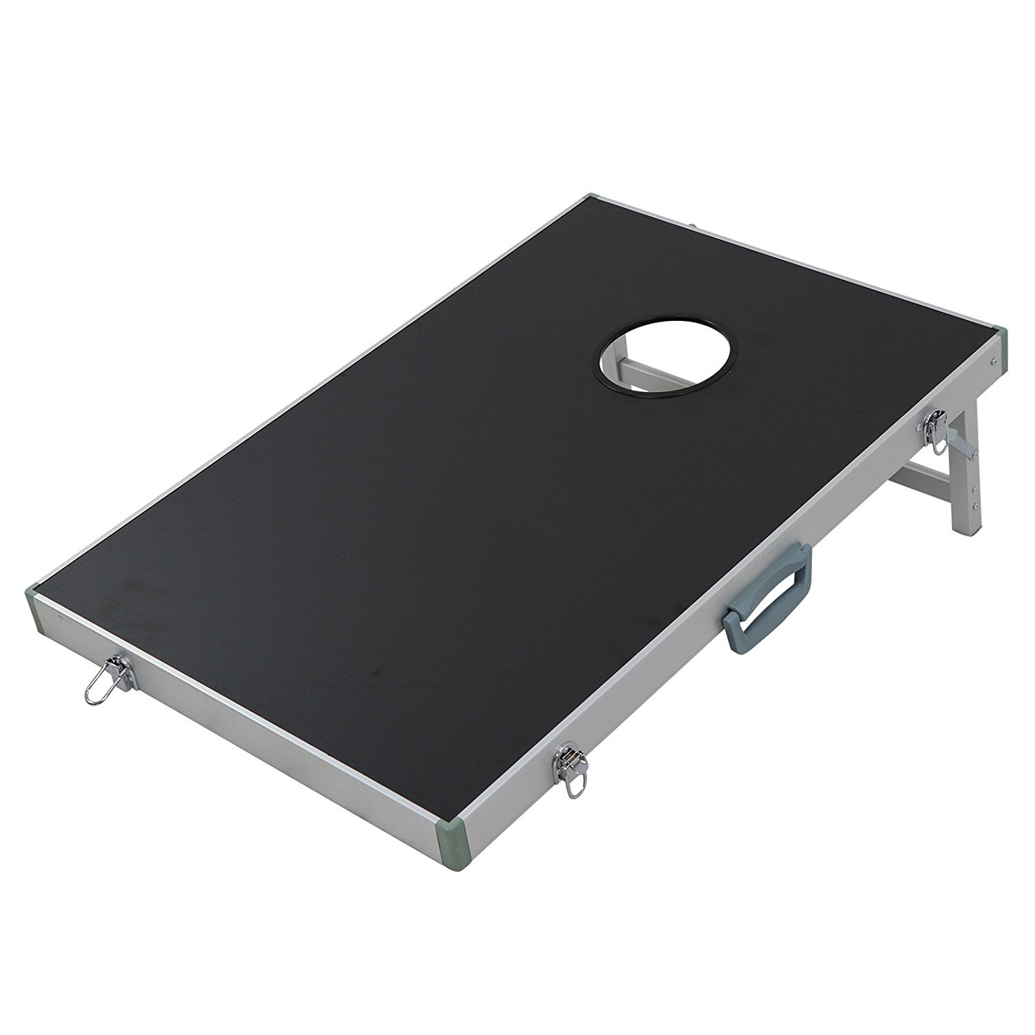 ZENY 3' x 2' Cornhole Bean Bag Toss Game Set with Carrying Case Aluminum Lightweight Corn Hole Board by ZENY (Image #5)