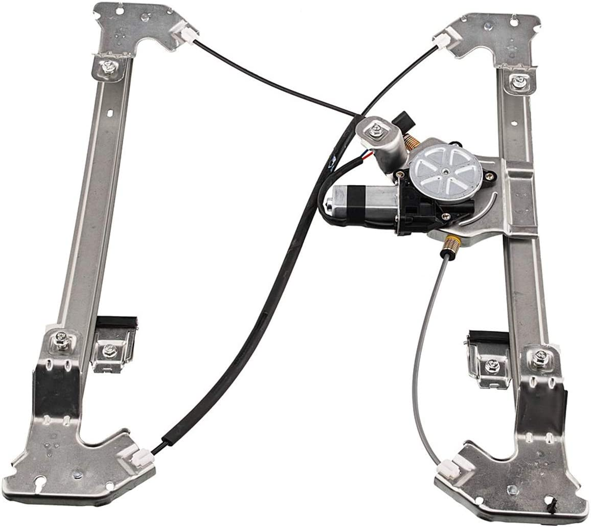 741-968 Power Window Regulator with Motor Assembly Rear Right Passenger Side Compatible for 04-08 Ford F-150 06-08 Lincoln Mark LT Pickup Truck