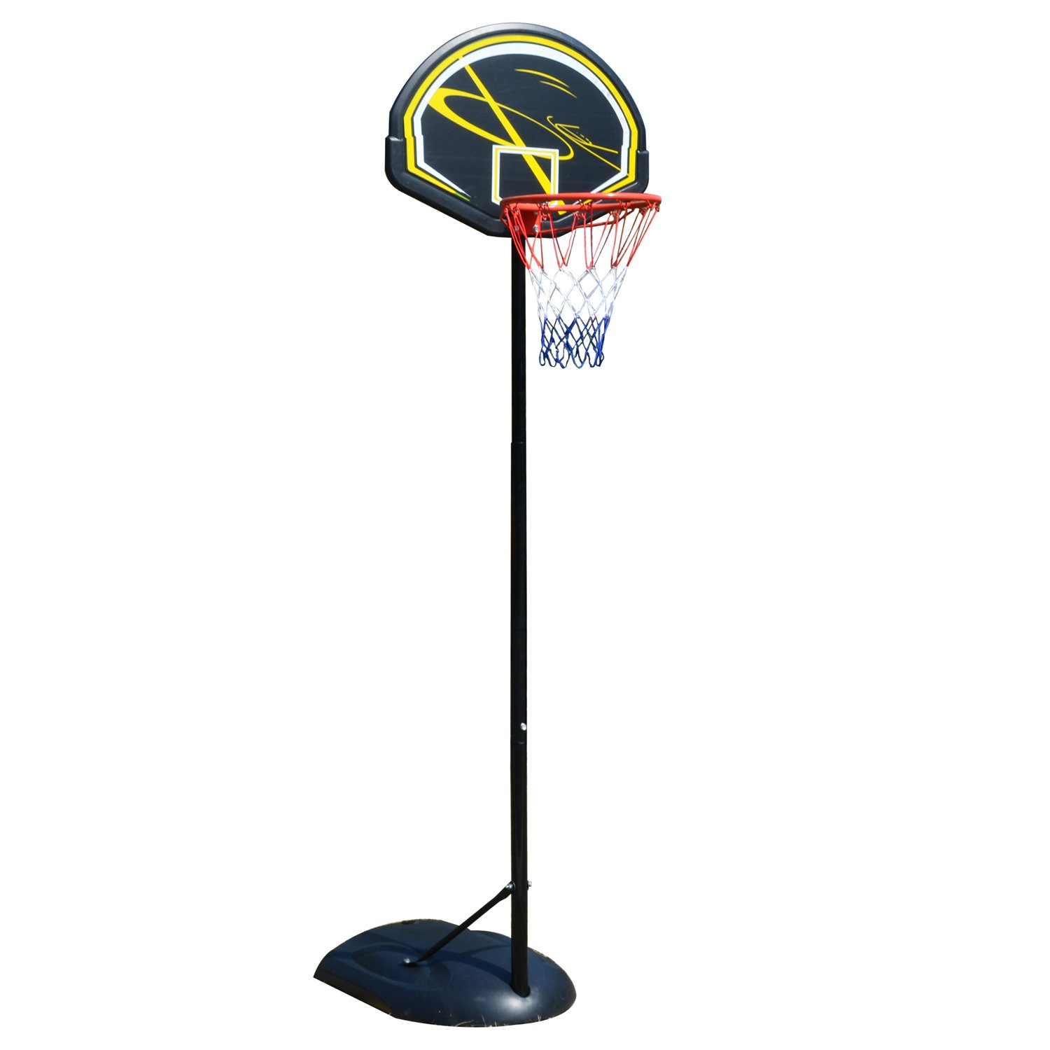 Cosway Basketball Goal, Indoor Outdoor Portable Adjustable Basketball System Hoop Stand Set Kids Junior Adult Youth