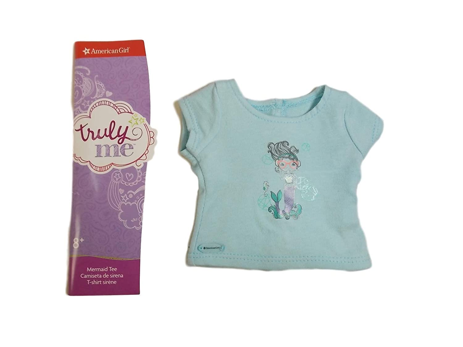 Doll Not Included American Girl Truly Me Mermaid Tee for 18 Dolls
