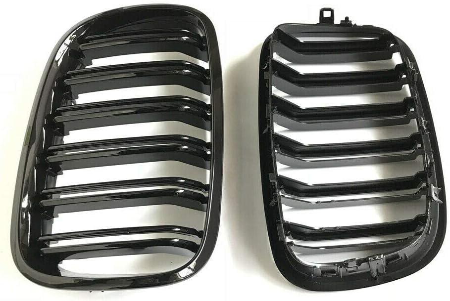 Griglia anteriore a doppia linea E70 E71 X5 X6 07-13 colore nero lucido
