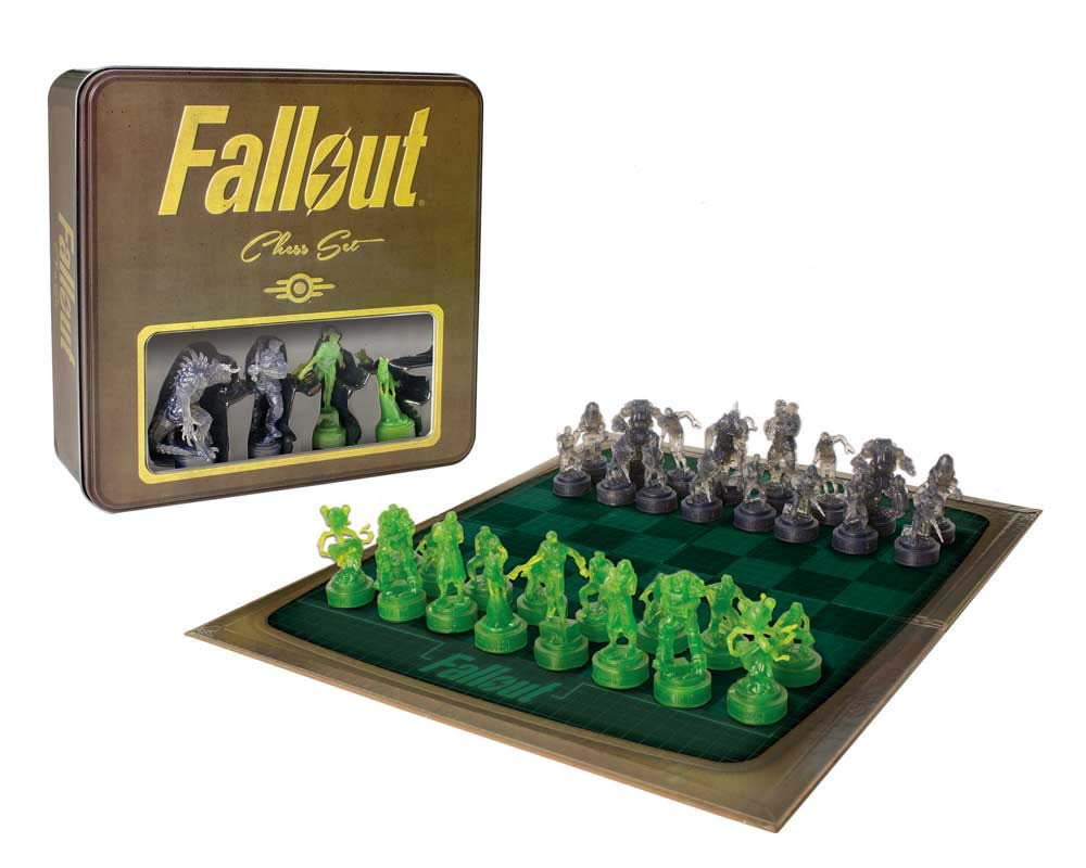 当店だけの限定モデル Fallout Set Chess Set Chess B07B8F4BHB フォールアウトチェスセット [並行輸入品] B07B8F4BHB, ウエスト:8eebfaf4 --- nicolasalvioli.com