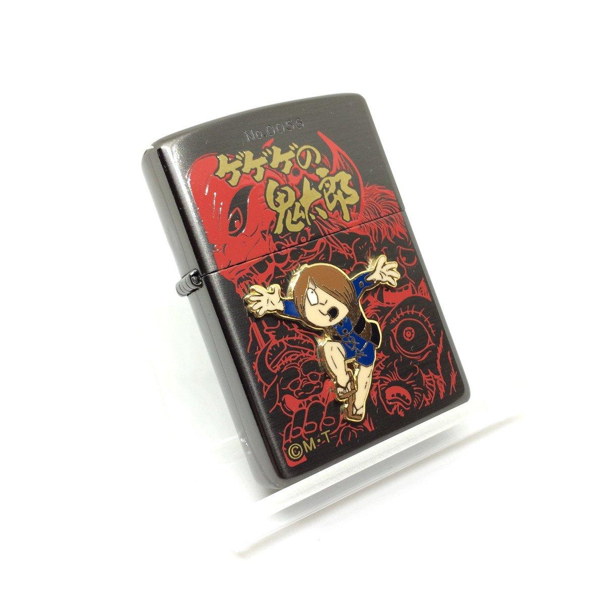 ZIPPO (ジッポー) ゲゲゲの鬼太郎 鬼太郎メタル付 1999年製 NO.1 B073XLZP89