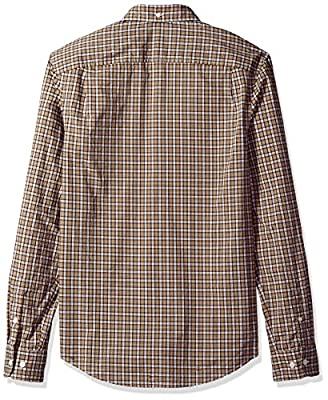 Original Penguin Men's P55 Mini Plaid Dress Shirt