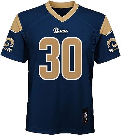 Todd Gurley II Los Angeles Rams NFL Kids 4-7 Navy Home Mid-Tier Jersey