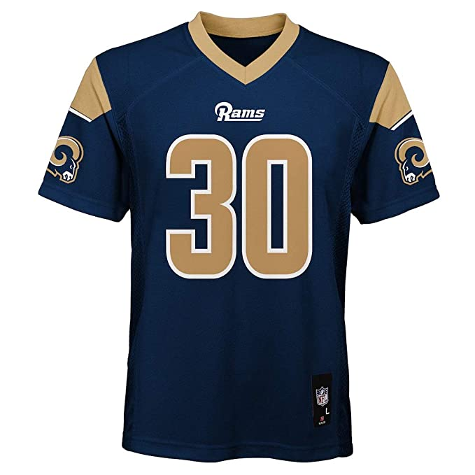 7e778bc7 Todd Gurley II Los Angeles Rams NFL Kids 4-7 Navy Home Mid-Tier Jersey