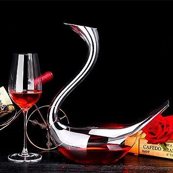 Fine Carafe Vin Rouge, 1.6L Classic Carafe En Verre Cristal Accessoires  Décoration Cadeaux Parfaits f076c625c3b8