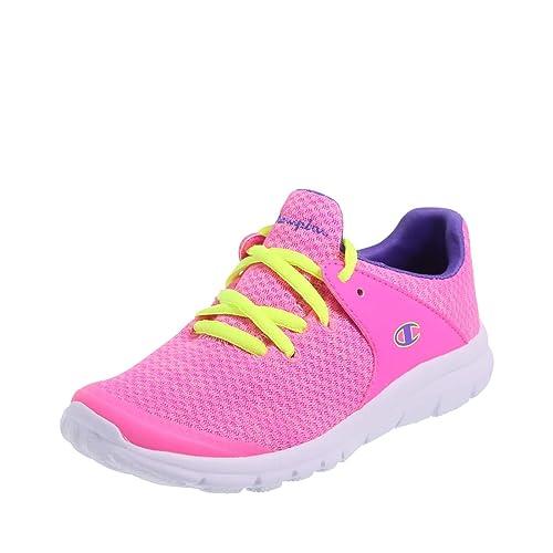 sports shoes f9822 c6cc1 Champion Pink Purple Girls  Sockfit Gusto Runner 2.5 Regular