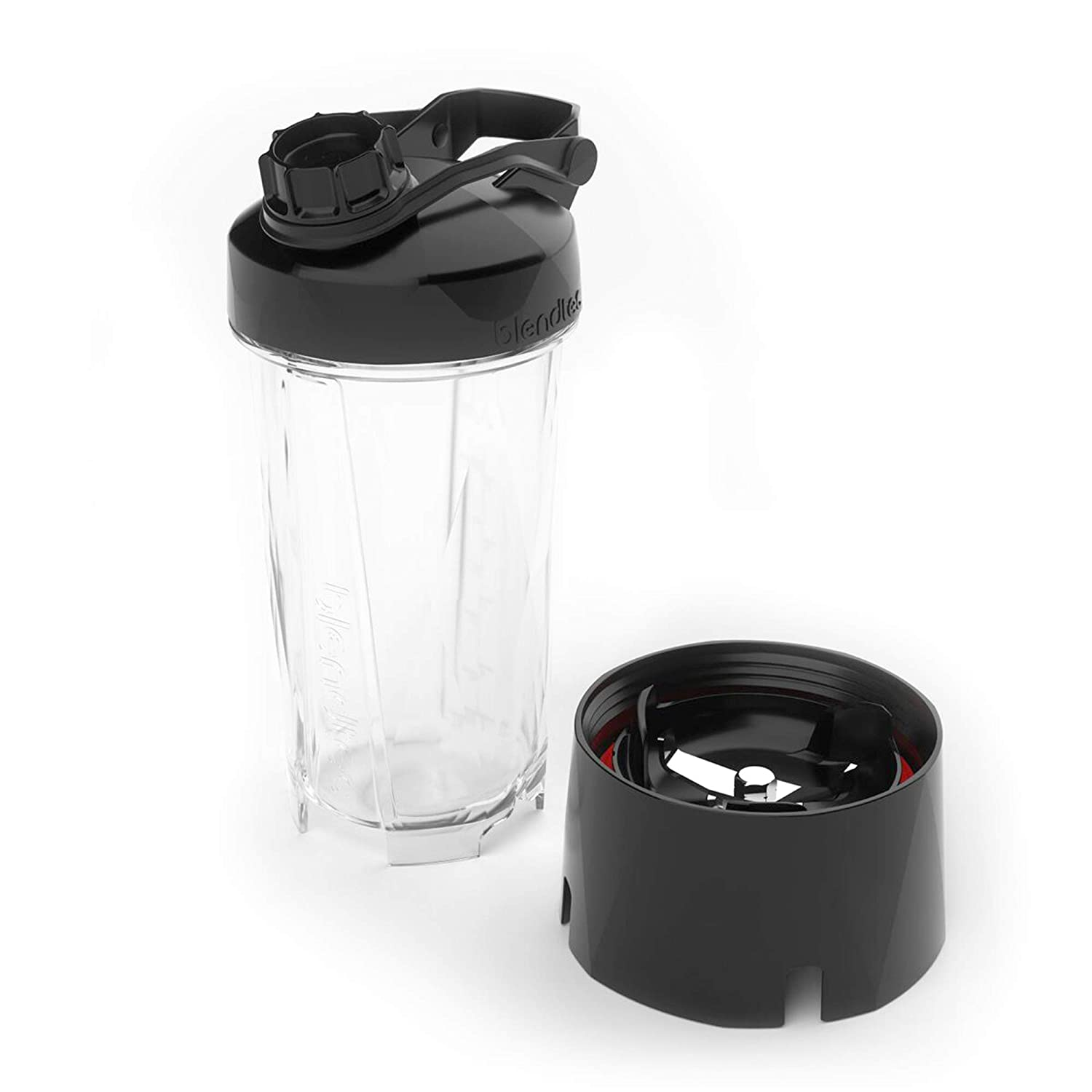 Blendtec GO Cup (34 oz), Travel Bottle, Reusable Single Serve Blender Cup, Travel Lid, BPA-free Jar, Clear