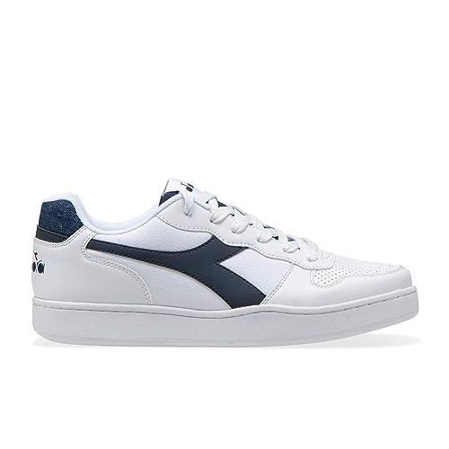 volume grande prezzi economici fabbricazione abile Diadora Men's Playground Den Trainers, White (Bianco/BLU ...