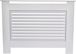 Radiator Covers for Home, Medium-Density Fiber Material Steam Radiator Covers, European-Style Modern White Finish, Used for Heating Cabinet Air Vent Covers, Furniture Decoration