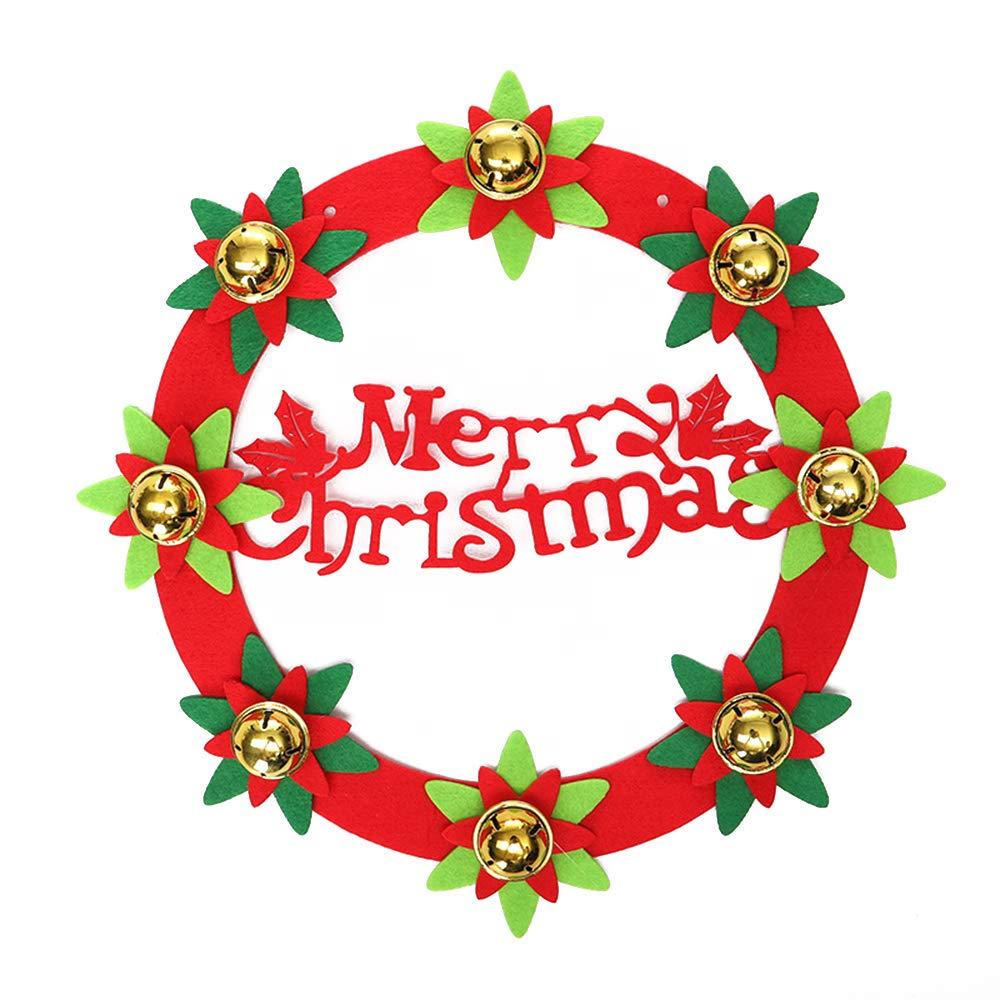 Christmas wreath red. Amazon com baidercor non