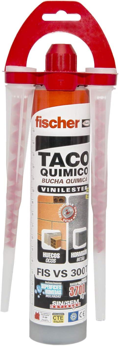 Fischer 510637 Taco Químico, Gris, 300 ml: Amazon.es: Bricolaje y herramientas