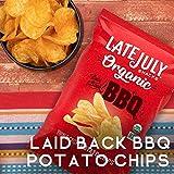 LATE JULY Snacks Organic Potato Chips Laid-Back