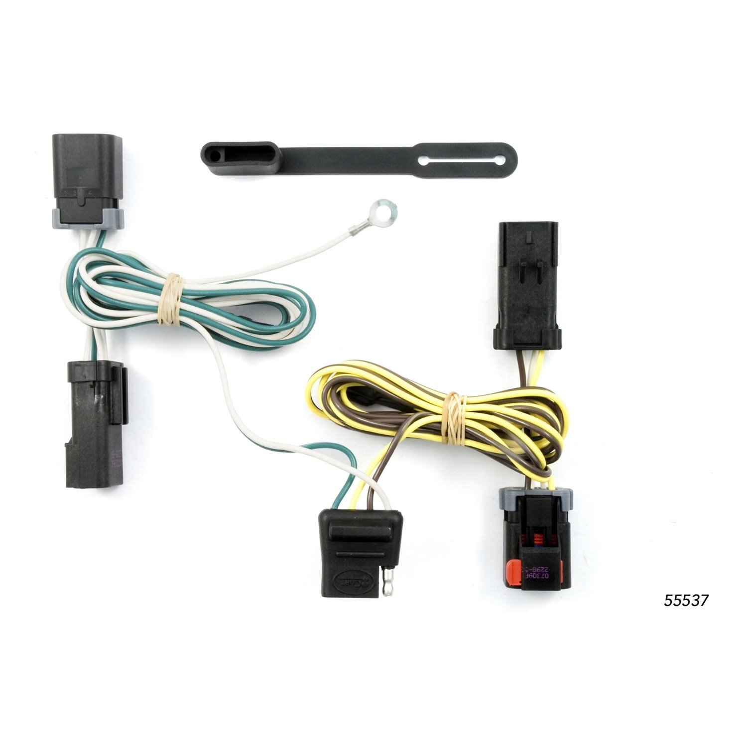 61jvODZfNZL._SL1500_ amazon com curt 55537 custom wiring harness automotive 94 Caravan at gsmportal.co