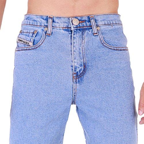 Super Basics - Jeans - Skinny - Homme bleu Délavé clair 42 courte