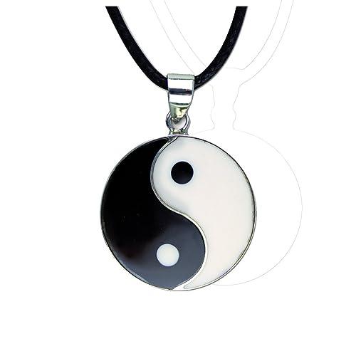 etNox by ECHT - Kettenanhänger Yin-Yang - 925 Sterling Silber