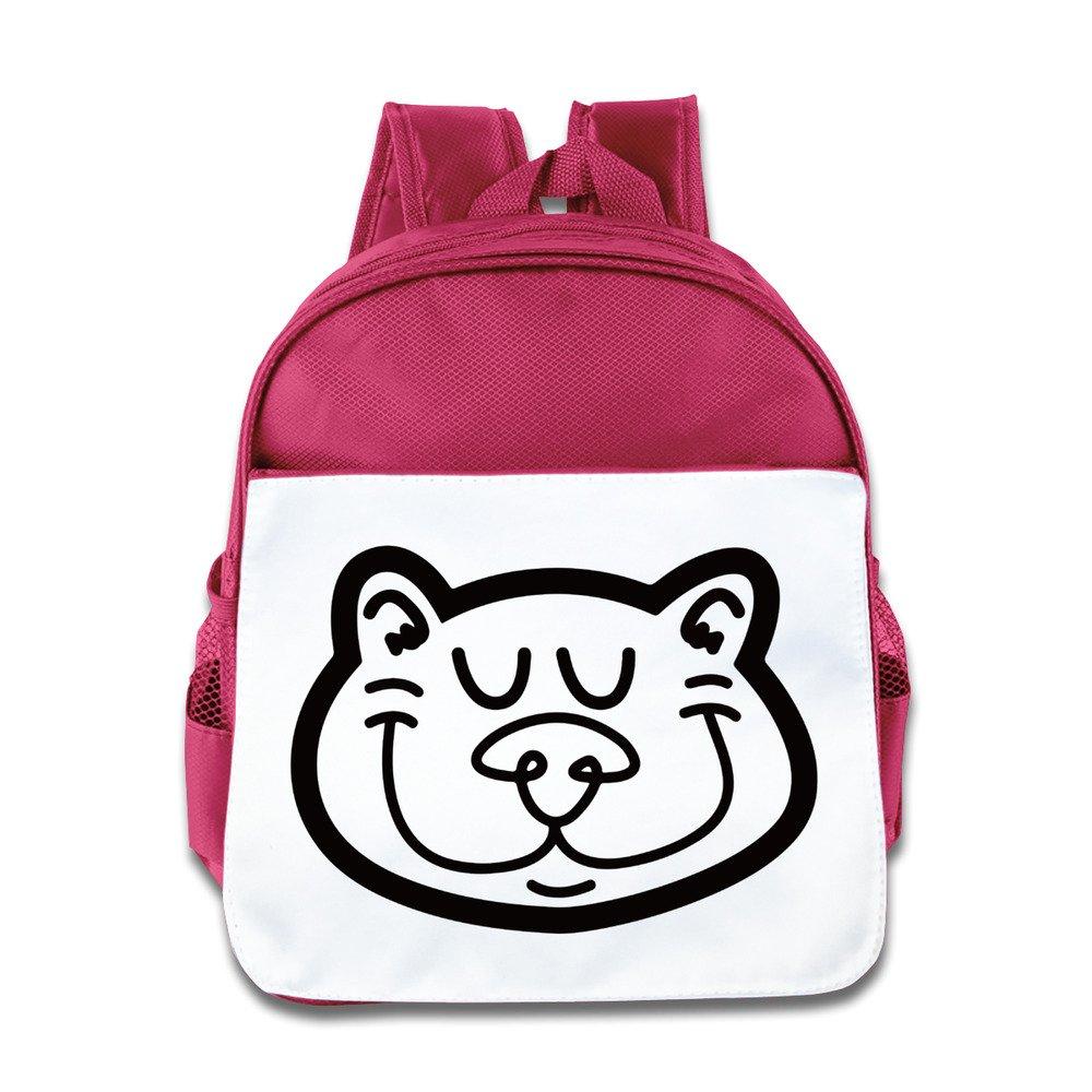 Amazon.com: NATY Simple Cat Clip Art Unisex School Backpacks ...