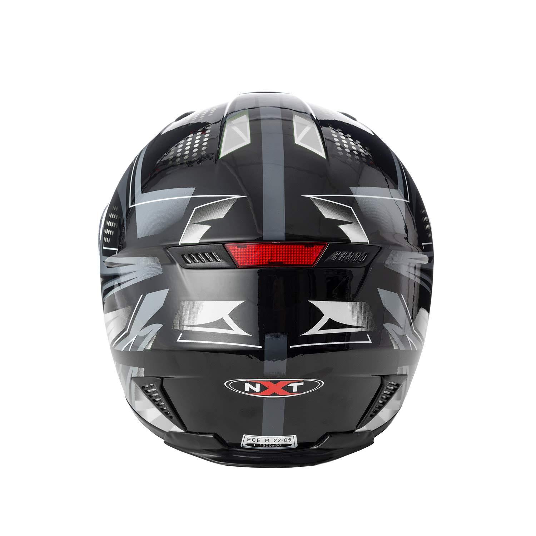 Full Face Sun Visor Front Motorbike Helmet Scooter Motorycle Bike Racing Helmet For Mens Womens Kids Boys Size Small