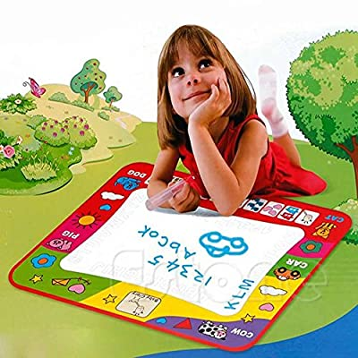 Magic Water Drawing Toy Painting Writing Mat Board 2 Magic Pens Doodle Mat for kids
