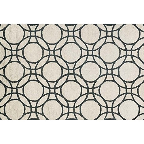 Loloi Rugs,  TAYLOR COLLECTION,  TAYLHTY08IVBL3656,  IVORY / BLACK  3'-6