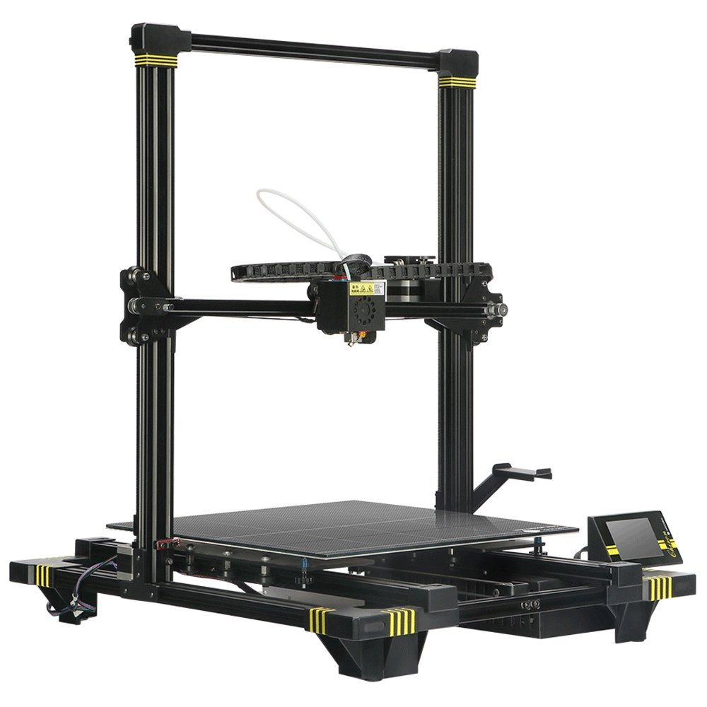 ANYCUBIC Chiron Semi-auto Leveling 3D Printer with Ultrabase Heatbed, Huge Build Volume 15.75 x 15.75 x 17.72 inch(400x400x450mm)
