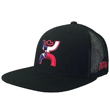 HOOEY LOGO TEXICAN ADJUSTABLE SNAPBACK TRUCKER HAT BASEBALL CAP BLACK 096bf998e967