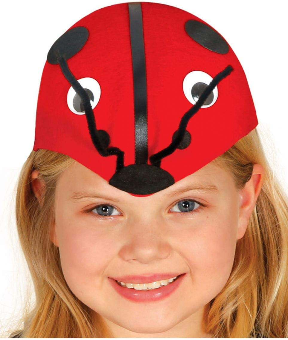 Horror-Shop cappello animale Ladybug per i bambini
