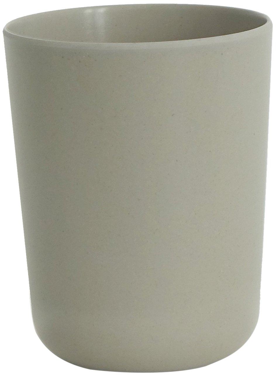 8/x 8/x 10/cm Grey BIOBU by EKOBO 36769/Bano Bamboo Toothbrush Holder