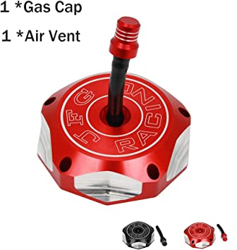 Fuel Tank Cap Cover Gas Vent Plug Aluminum CNC For Honda FourTrax 250 TRX 450R