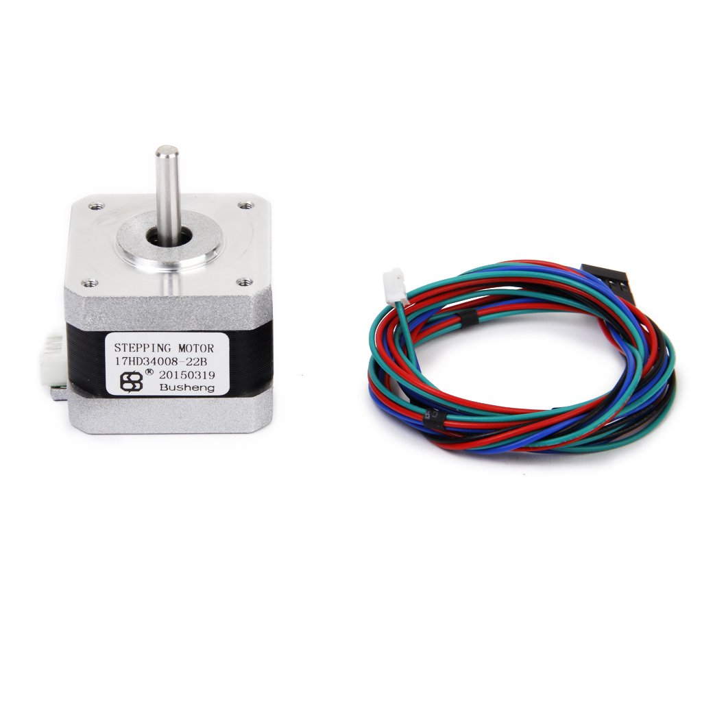 Nema 17 3d Printer 2 Phase 4 Wire Stepper Motor For 6 Controller Electronics