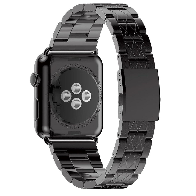 ステンレススチールリストバンド、Ankola純正クイックリリースウォッチバンドストラップfor Apple Watch 38 mm 38mm ゴールド Rose Gold B071LJKVVT
