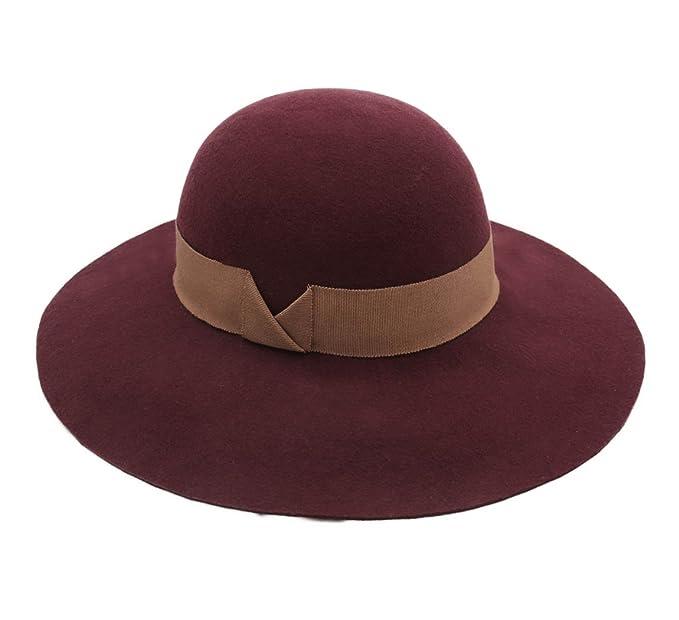cómo llegar más baratas nuevo alto Marzi - Sombrero Campana - Cloche ala Ancha Mujer Stene ...
