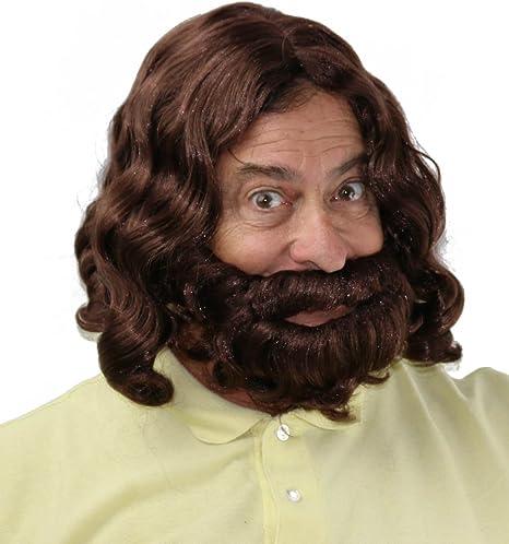 City Costume Wigs Jesús Peluca y Barba Set | Profeta, Hippie ...