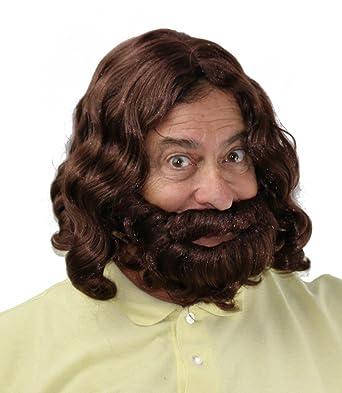 Amazon.com: Ciudad disfraz Pelucas Jesús peluca Profeta ...
