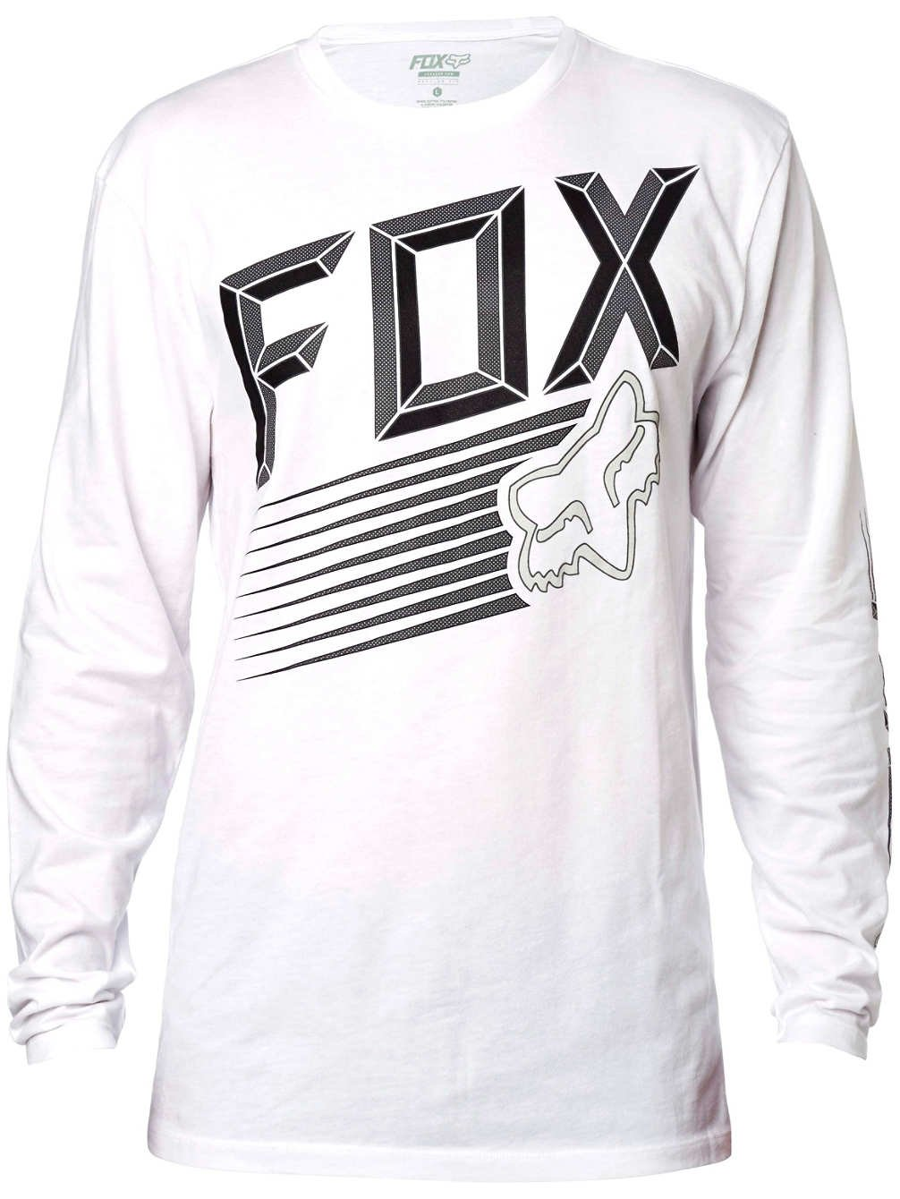 Fox Men's Efficiency LS T Shirt White