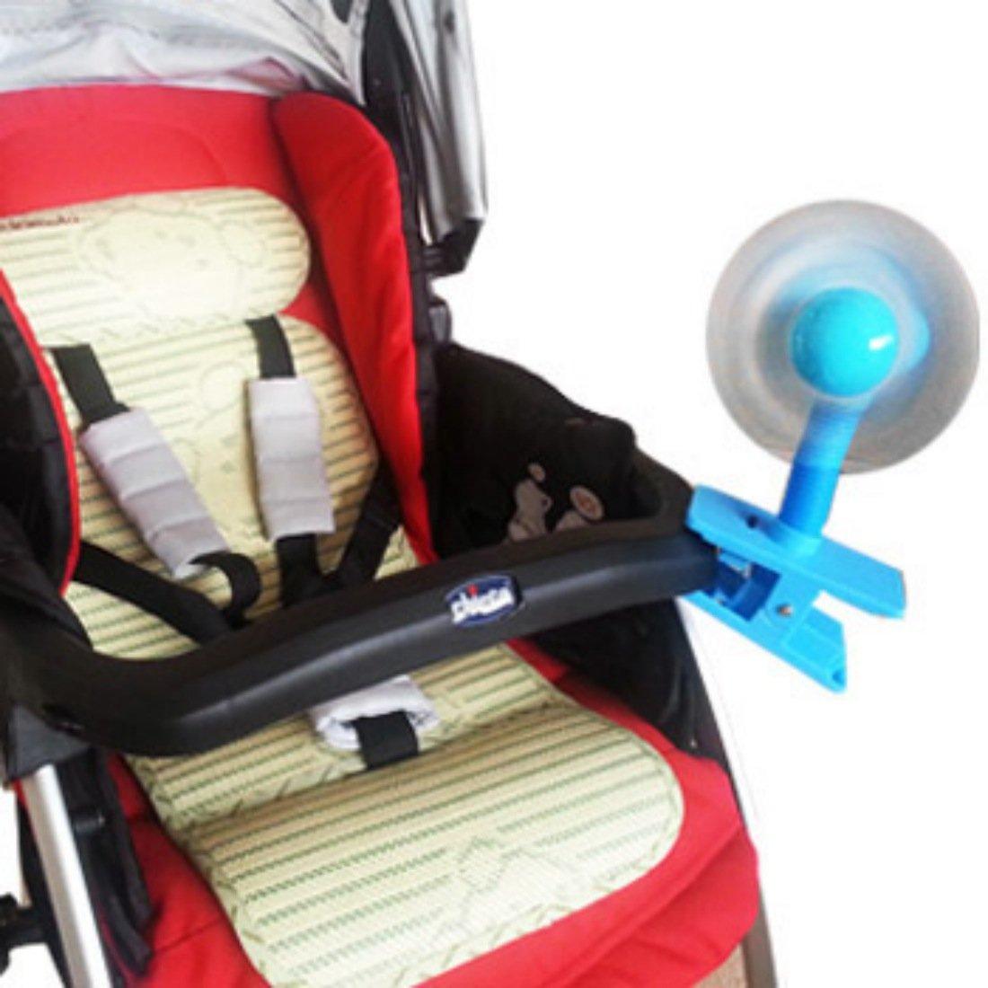 Yellow KF Baby Clip-On Mini Stroller Fan