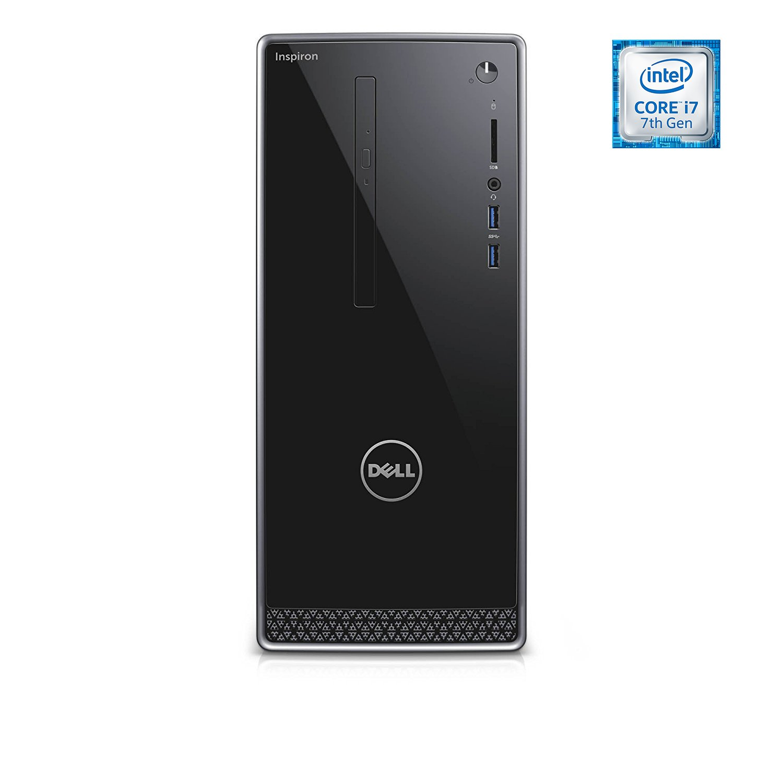 Dell Inspiron i3668 Desktop - 7th Generation Intel Core i7-7700 Processor up to 4.2 GHz, 32GB DDR4 Memory, 256GB SSD + 2TB SATA Hard Drive, Intel HD Graphics, DVD Burner, Windows 10 Pro by Dell_Computers (Image #1)