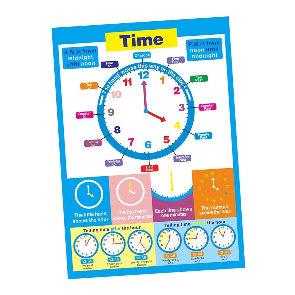 Body Boy Wall Charts For Toddlers SANCENT Educational Preschool Posters for Kindergarten Classroom Decorations Organization Learning Posters For Kindergarten -17x24in