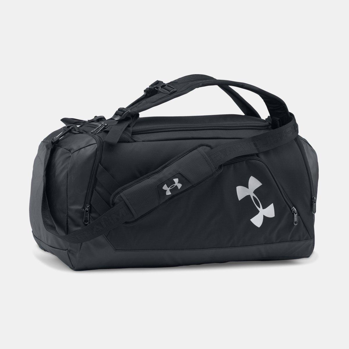[UNDER ARMOUR] アンダーアーマー UA Storm Contain Backpack Duffle 3.0 [並行輸入品]  Black /Black B0753C2QM3