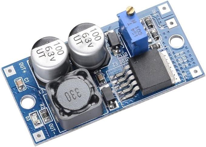 5V fish DC-DC LM2596HV Buck Convertisseur 5V-60V /à 26V-1.25V abaisseur Module dalimentation 48V /à r/égulateur de Tension 3V 12V