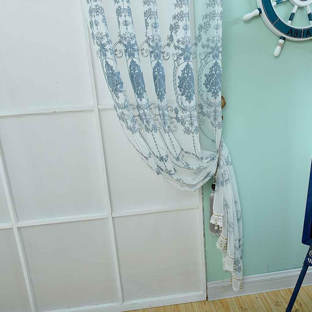 Elektrowerkzeuge U0026 Handwerkzeuge Sunlera Stickerei Voile Gestickter Bloßen  Vorhang Panel Für Wohnzimmer Schiebetür Schraubendreher Sets