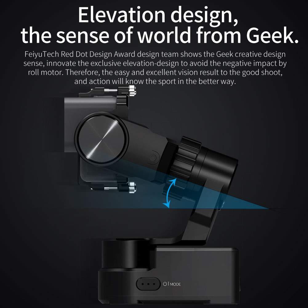 Feiyu-Tech WG2X colore Nero Stabilizzatore per videocamera