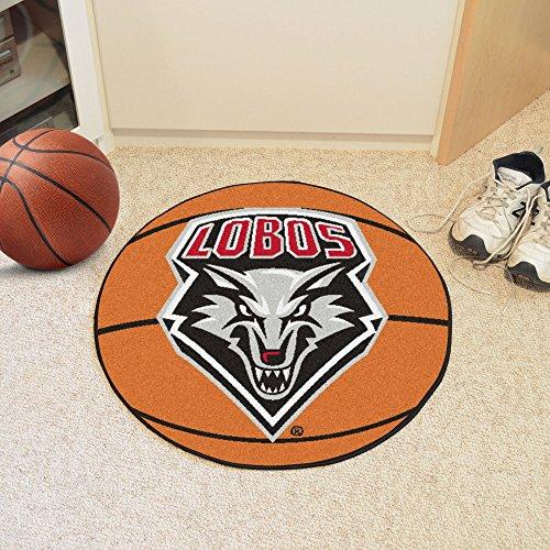 New Mexico Basketball Rug (New Mexico Basketball Mat 26