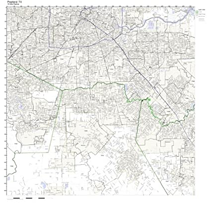 Amazon.com: Pearland, TX ZIP Code Map Not Laminated: Home & Kitchen