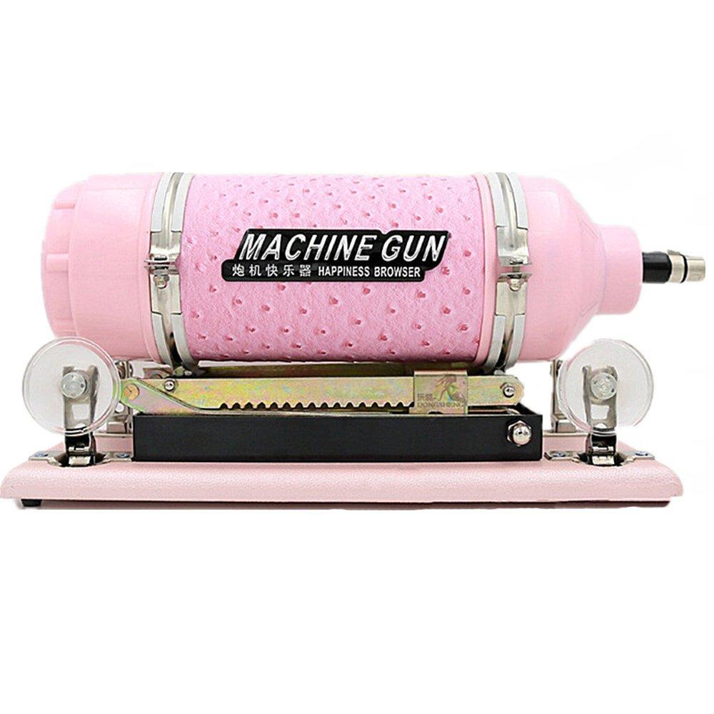 Selani® Auto Sex Machine Fast Thrust Telescopic Pink Masturbation Toy with Dildo by Selani
