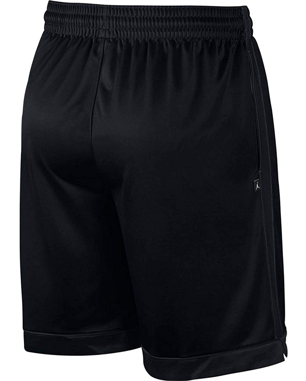 6fc82ebe500 Jordan AJ1122-010: Shimmer Mens Black/Gym Red Shorts at Amazon Men's  Clothing store: