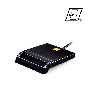 Lector DNIe [Lector de Tarjetas USB 2.0] [ISO 7816] [Compatible con Windows 7, 8 y 10] [Plug and Play]