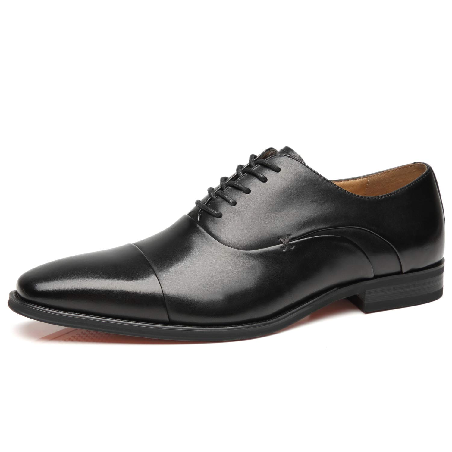fafe8861 Amazon.com | La Milano Mens Cap Toe Oxford Leather Lace Up Classic  Comfortable Modern Formal Business Dress Shoes for Men | Oxfords